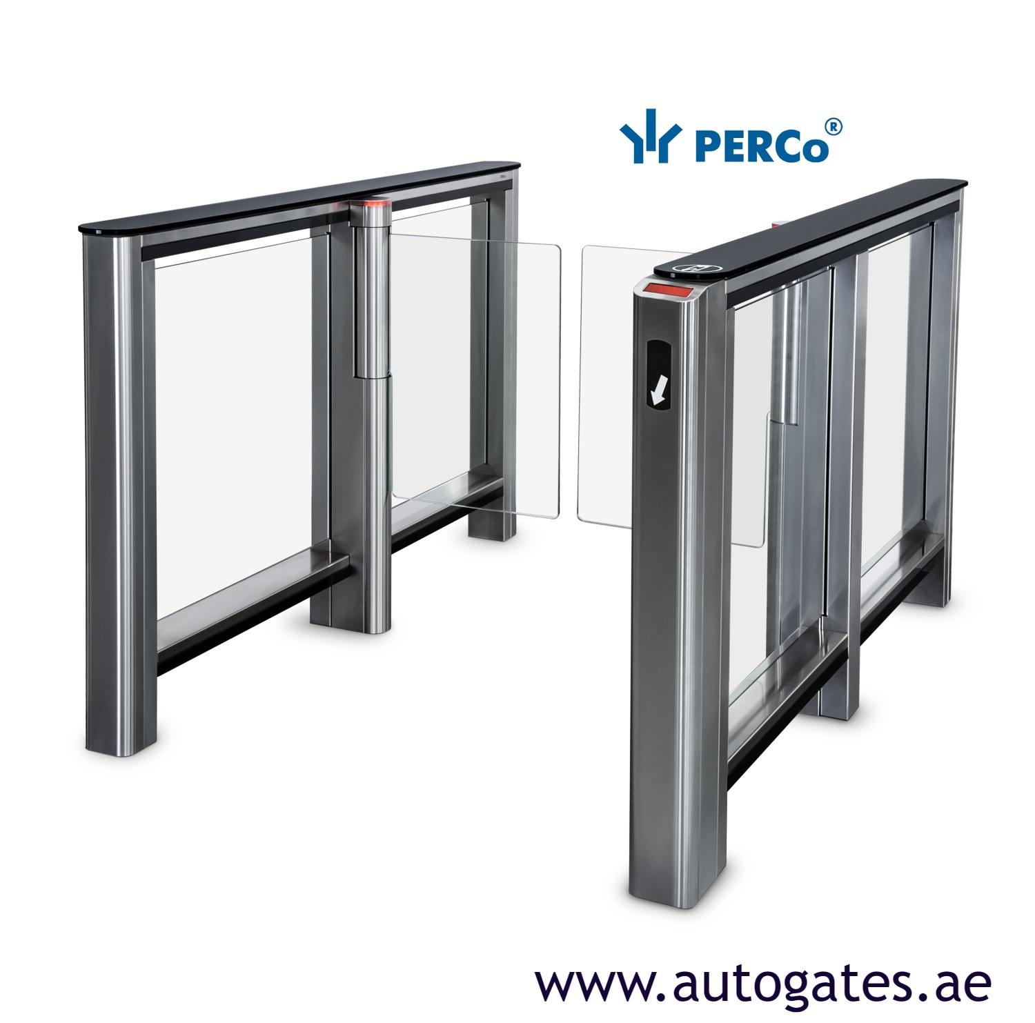 Perco speed gate Suppliers in dubai | Perco barcode gates dubai | made in Russia