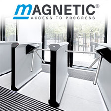 Magnetic Autocontrol, Magnetic Turnstile gate Dubai - Auto gates UAE