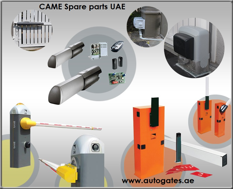 CAME gate spare parts suppliers in Dubai, Sharjah, Ajman, UAE | CAME gate spares