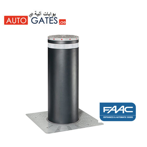 Retractable Bollards UAE, FAAC Hydraulic Bollards Dubai, UAE